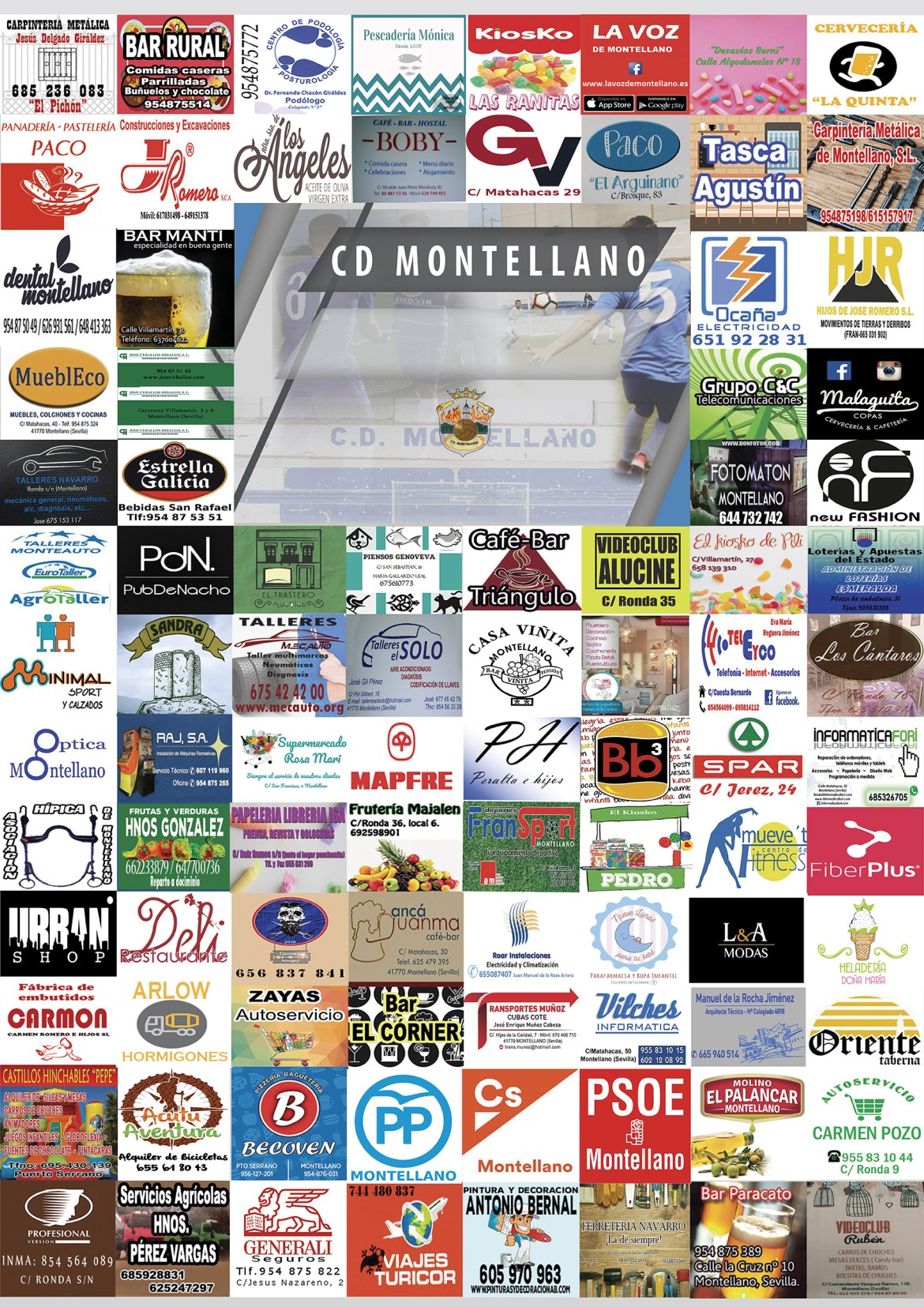 Cartel CD Montellano 2018/2019