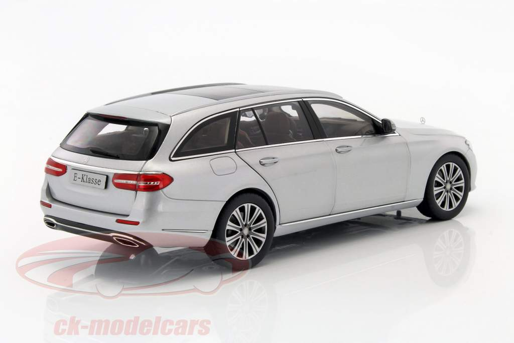Mercedes Benz E Klasse S213 T Modell Iridium Silver 118 Iscale