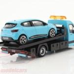 Bburago 1 43 Renault Clio Com Transportador De Mesa Azul Claro 18 31401 Modelo Carro 18 31401 4893993314003