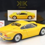 Kk Scale 1 12 Ferrari 246 Gt Dino Year 1973 Yellow Kkdc120022 Model Car Kkdc120022 9580015709767