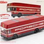 Schuco 1 43 Mercedes Benz O 317 Race Truck Porsche Motorsport Red 450372900 Model Car 450372900 4007864025008