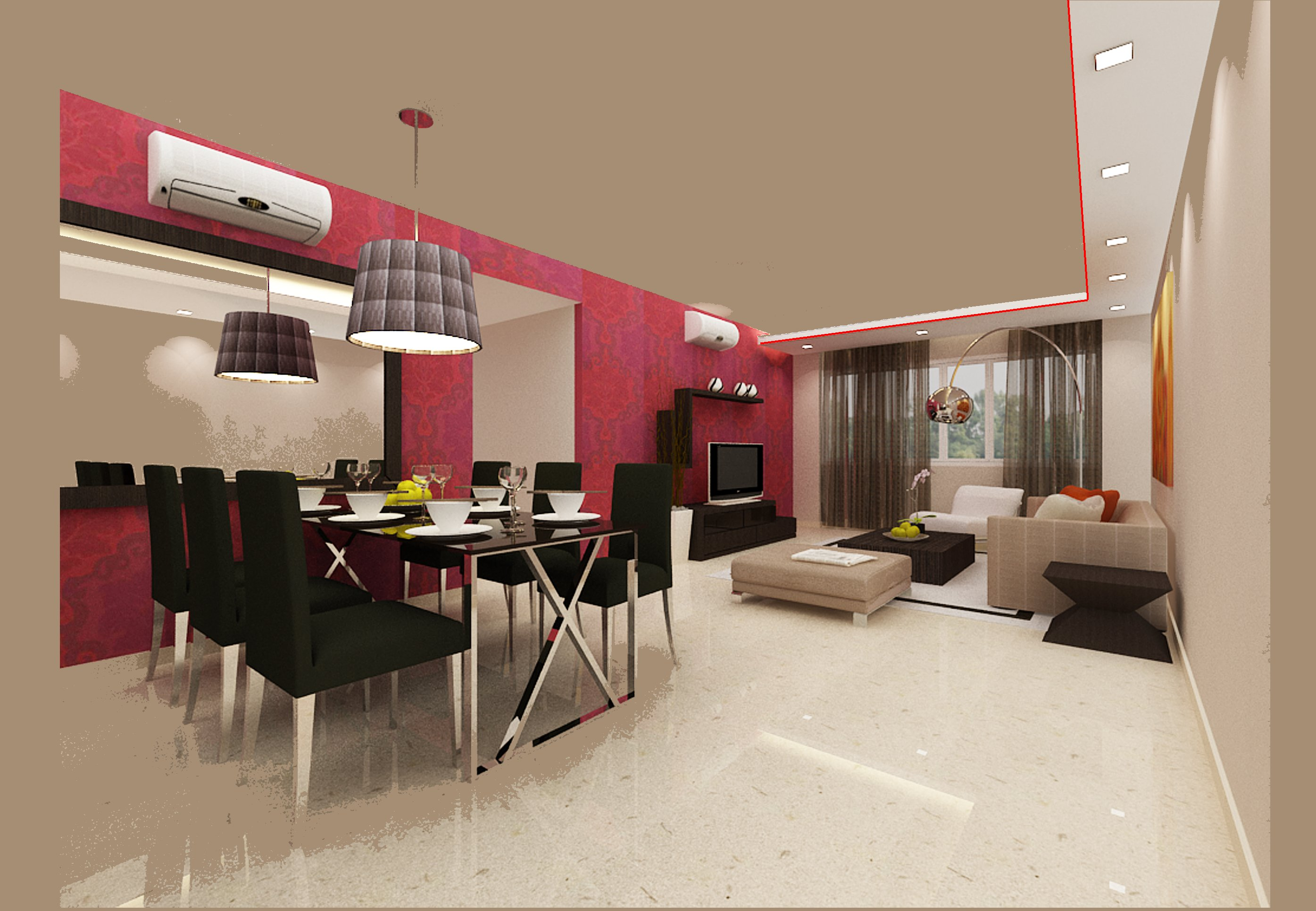 Designs Of False Ceilings In The Living Room Feng Shui