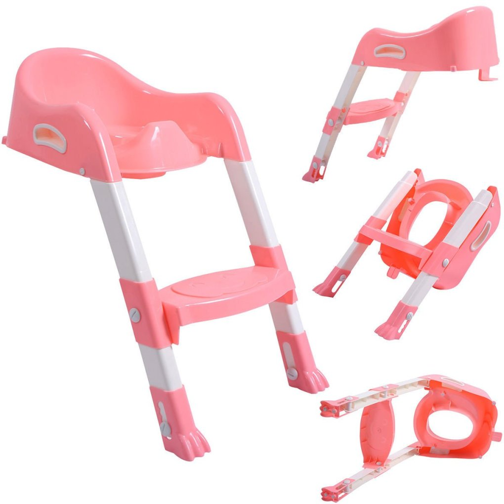 Tremendous Kids Potty Training Seat With Step Stool Ladder F Child Creativecarmelina Interior Chair Design Creativecarmelinacom