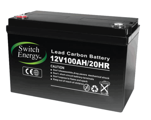 12V 100Ah lead carbon battery