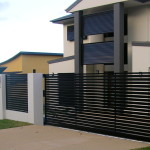 cancela vehculo puerta peatonal y vallado para casa o jardn modelo econmico y moderno con visibilidad reducida fabricado por tubos de