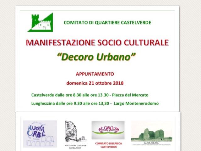 Giornata dedicata al decoro urbano domenica 21 ottobre Castelverde -Lunghezzina 1-2