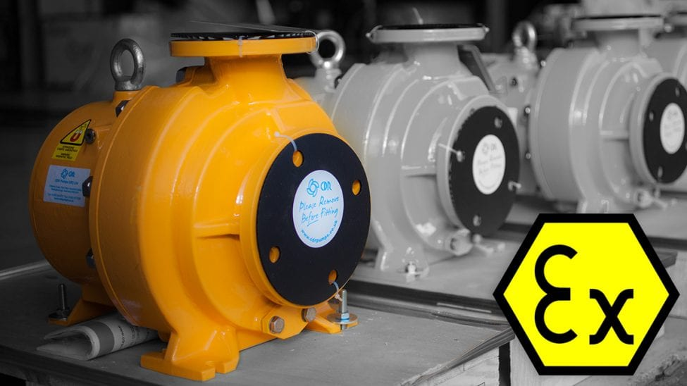 Atex certified pumps cdr pumps cdr pumps carry atex certification ccuart Choice Image