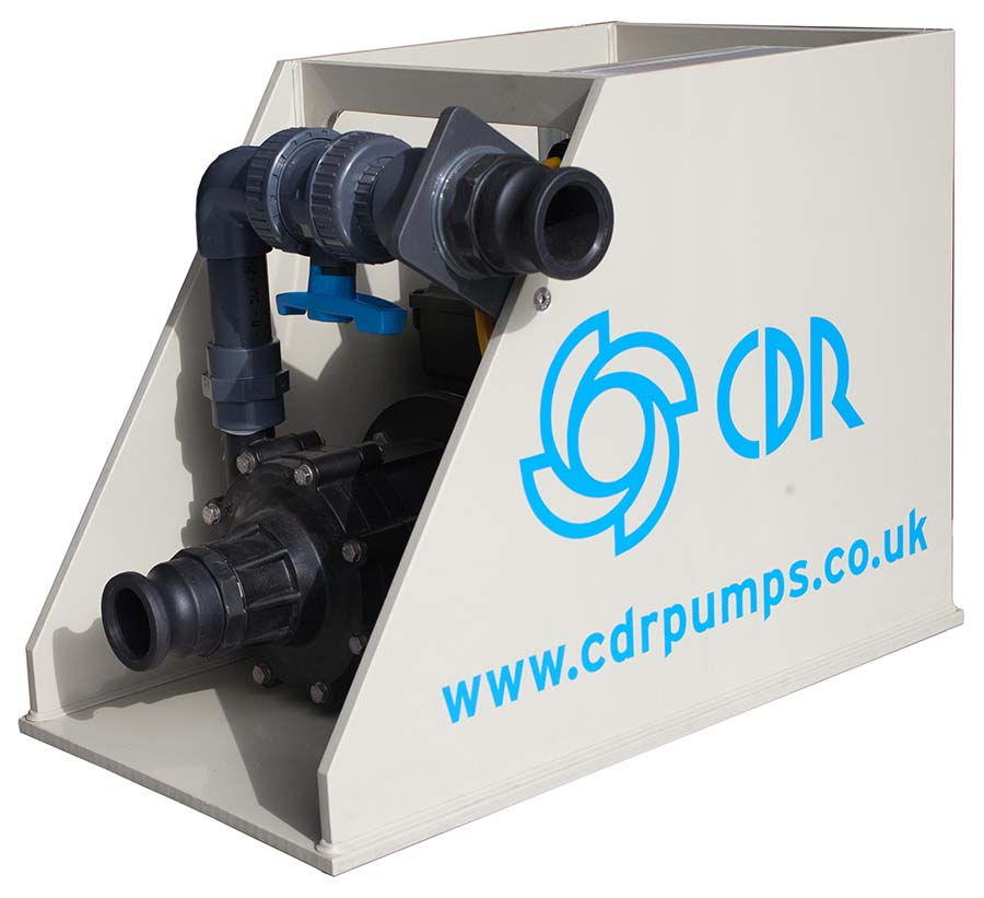 Mobile pumping station, an engineered solution manufactured by CDR Pumps