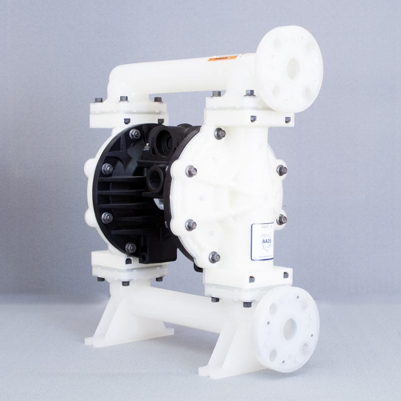Ashton Pump Air Operated Diaphragm Pump AA25 NON-METALLIC
