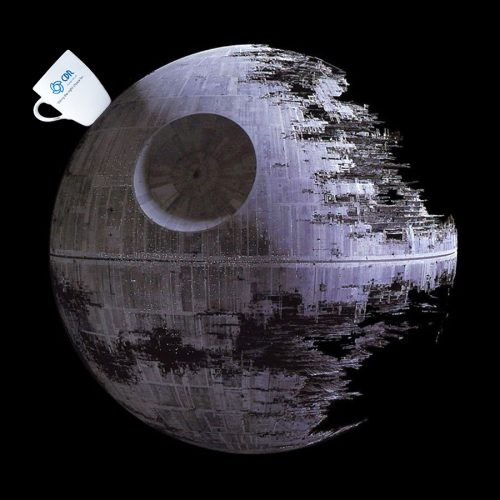 CDR conquered the Death Star (honest)