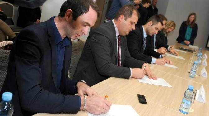 Partije potpisale Sporazum