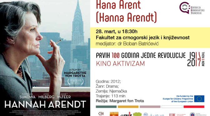 Kino aktivizam: Hana Arent