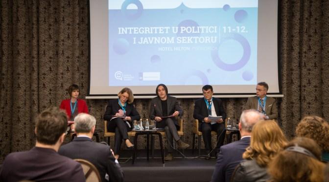 Integritet u politici i javnom sektoru