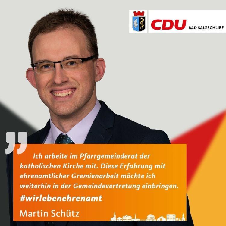 Martin Schütz, Listenplatz 10