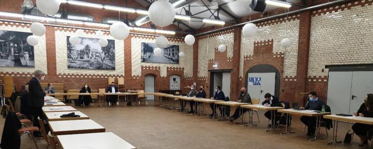 Die Mitgliederverammlung am 3. Dezember 2020 tagte unter Corona- Bedingungen im Kulturkessel von Bad Salzschlirf