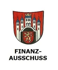 Sitzung des Finanzausschusses @ Sitzungssaal des Verwaltungsgebäude