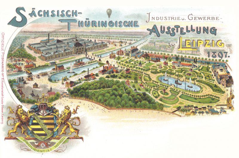 Die fast vergessene Industrie- und Gewerbeausstellung 1897