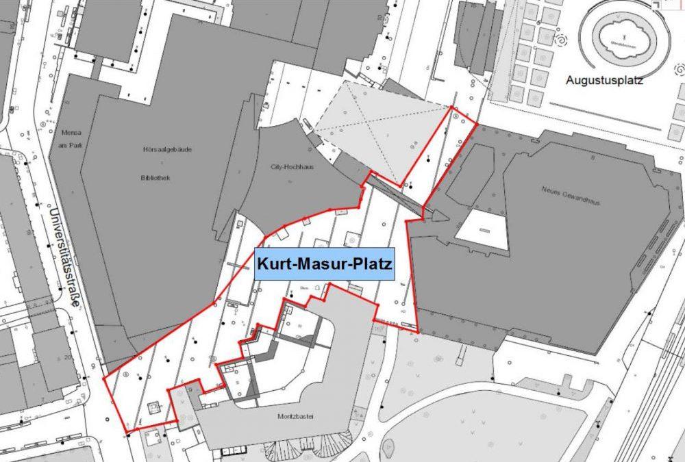 Kurt-Masur-Platz in Mitte