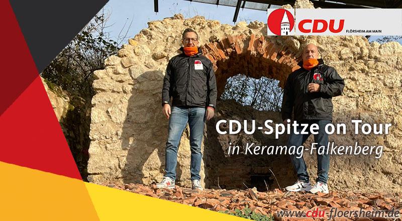 CDU-Spitze on Tour in Keramag-Falkenberg