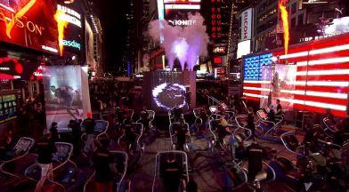 Puma Ignite, en Times Square con Usain Bolt