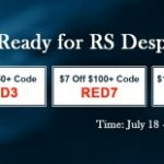 Group logo of Special Event on RSorder with RS07 Gold $18 Discount Obtaining until Jul 23