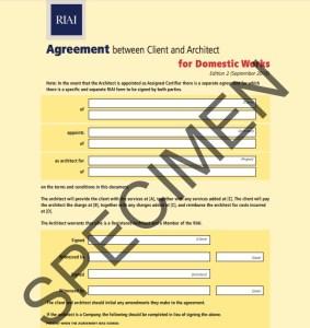 riai - fee agreement cover sheet 1