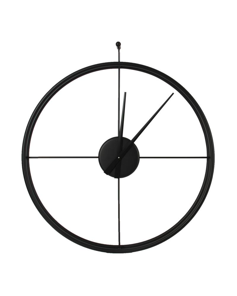 Si ambienta in ogni tipologia d'arredamento moderno. Orologio Da Parete Moderno Essenziale Diametro 90 Cm