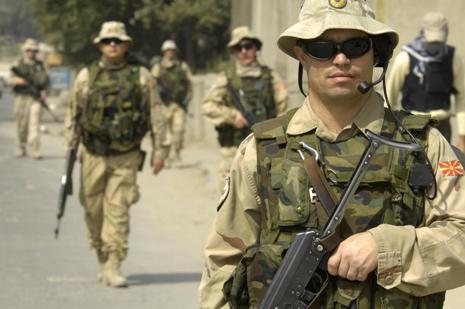 ISAF peacekeepers in Afghanistan (photo: macedoniadaily.org)