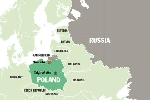 US missiles and troops will be deployed in Poland, less than 60 km from the Russian border.