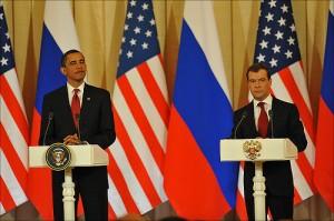 Obama & Medvedev