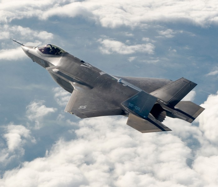 F-35 Joint Strike Fighter. (Photo Credit Department of National Defence)
