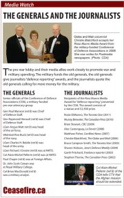Media Watch: The Generals and the Journalists