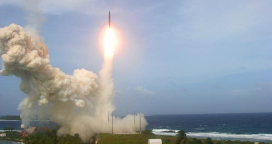 Missile defence test