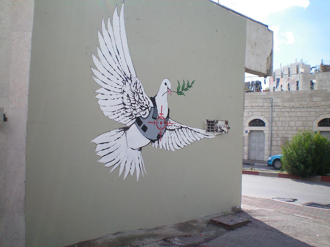 Banksy - Peace Dove