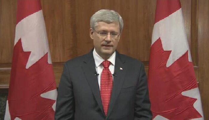 Harper speech