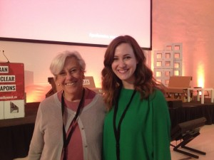 Rideau Institute Senior Advisor Alice Slater and Ceasefire.ca's Kat Walsh