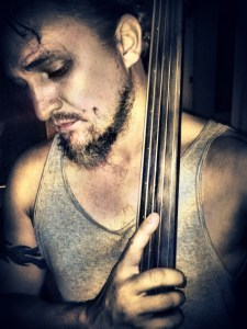 Jay Lamm upright bass