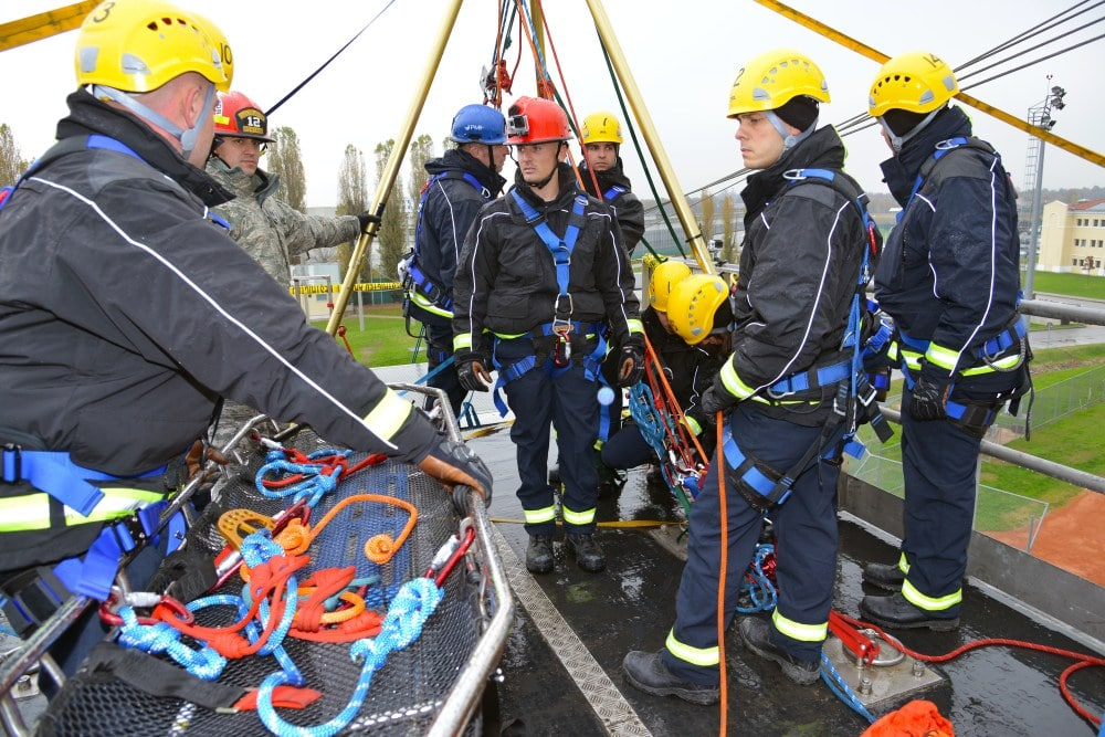 DOD Technical Rope Rescue 1 Nov. 11, 2016