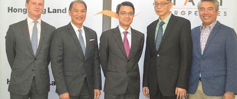Taft Properties, Hongkong Land to develop waterfront township cebu