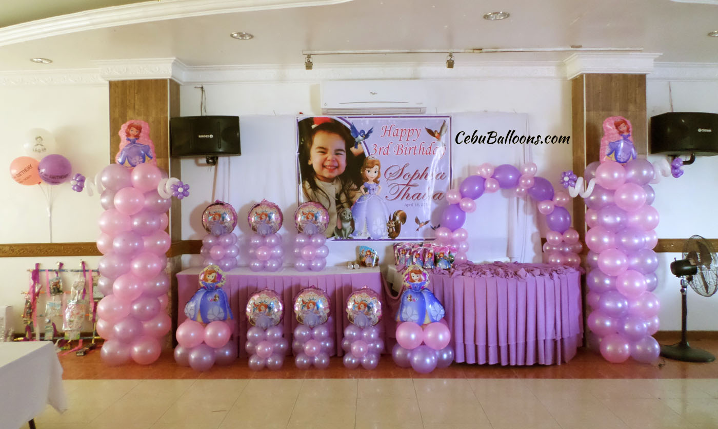 Sofia The First Decorating Ideas