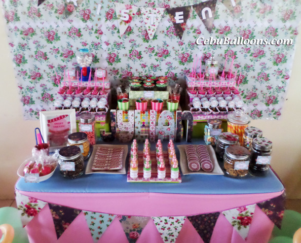 Dessert Amp Candy Buffet Cebu Balloons And Party Supplies