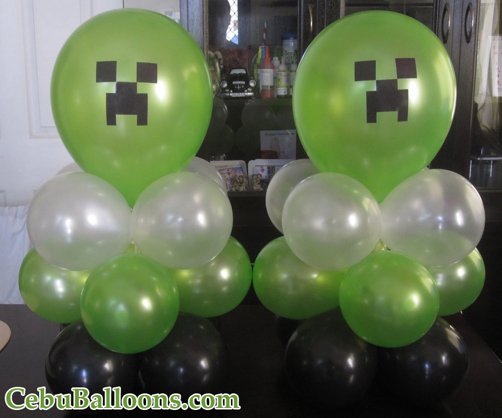 Minecraft Party Balloons