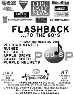 Handuraw - The Events Cafe - Flashback to the 80's