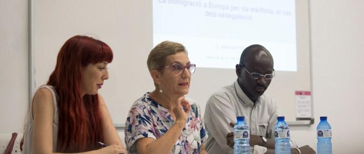 """Conferència-col·loqui """"La immigració a Europa per via marítima: el cas dels senegalesos"""""""