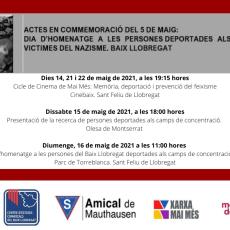 ACTES EN COMMEMORACIÓ DEL 5 DE MAIG