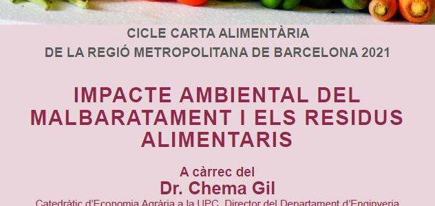 IMPACTE AMBIENTAL DEL MALBARATAMENT I ELS RESIDUS ALIMENTARIS