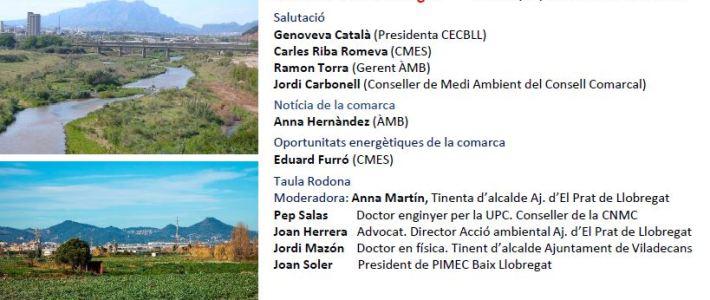 CICLE DE DEBATS TRANSICIÓ ENERGÈTICA I TERRITORI – SESSIÓ BAIX LLOBREGAT