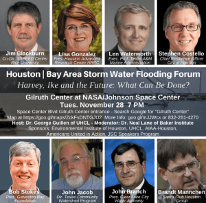 Houston & Bay Area Stormwater Flooding Forum @ Gilruth Center at NASA/Johnson Space Center | Houston | Texas | United States