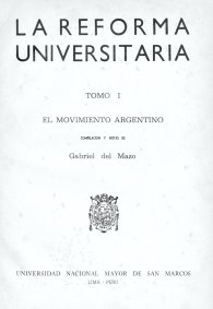 Resultado de imagen para Reforma Universitaria