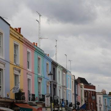 l'arc en ciel de Notting Hill